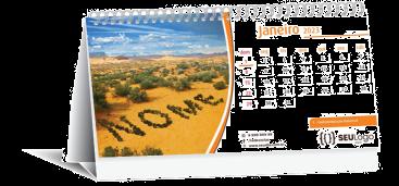 calendário personalizado, calendário de mesa, brinde promocional